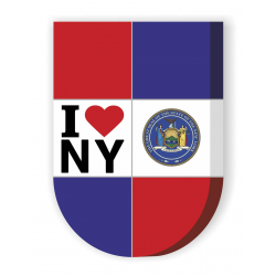 I love NY. Shield SIMVL