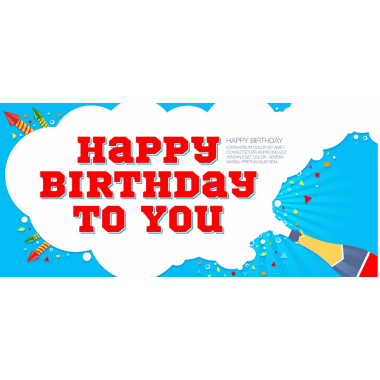 Happy birthday to you.  Organizer-Postcard